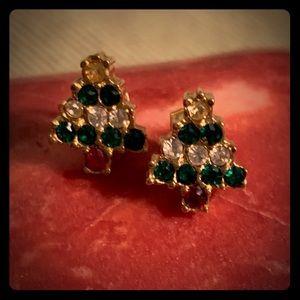 Christmas Tree Fashion Stud Earrings